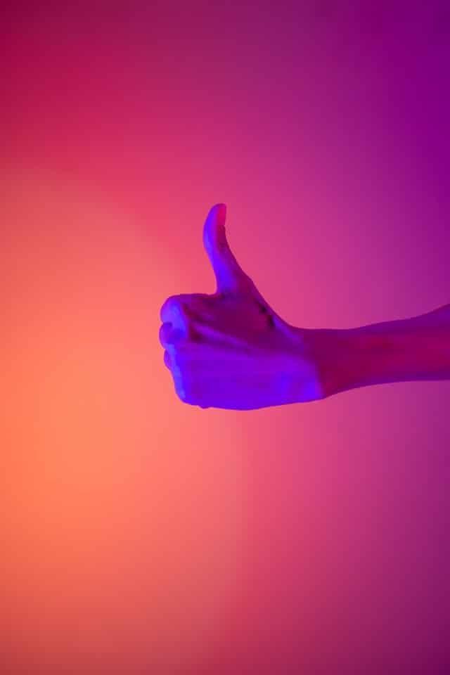 SEO Agency Thumbs up